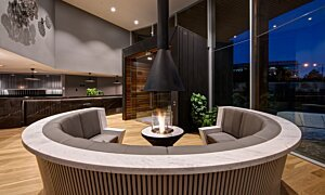 AB3 Ethanol Burner - In-Situ Image by EcoSmart Fire