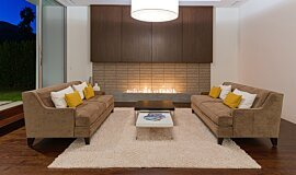 South Palm Canyon Linear Fires Ethanol Burner Idea