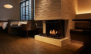 Scope 340 Fireplace Insert - In-Situ Image by EcoSmart Fire