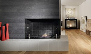 Scope 500 Fireplace Insert - In-Situ Image by EcoSmart Fire