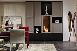 Firebox 450SS Premium Fireplace - In-Situ Image by EcoSmart Fire