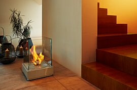 Mini T Outdoor Fireplace - In-Situ Image by EcoSmart Fire