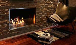Firebox 1000SS Fireplace Insert - In-Situ Image by EcoSmart Fire