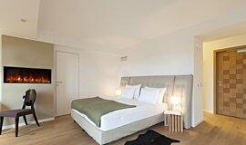 Hotel Room Hospitality Fireplaces Fireplace Insert Idea