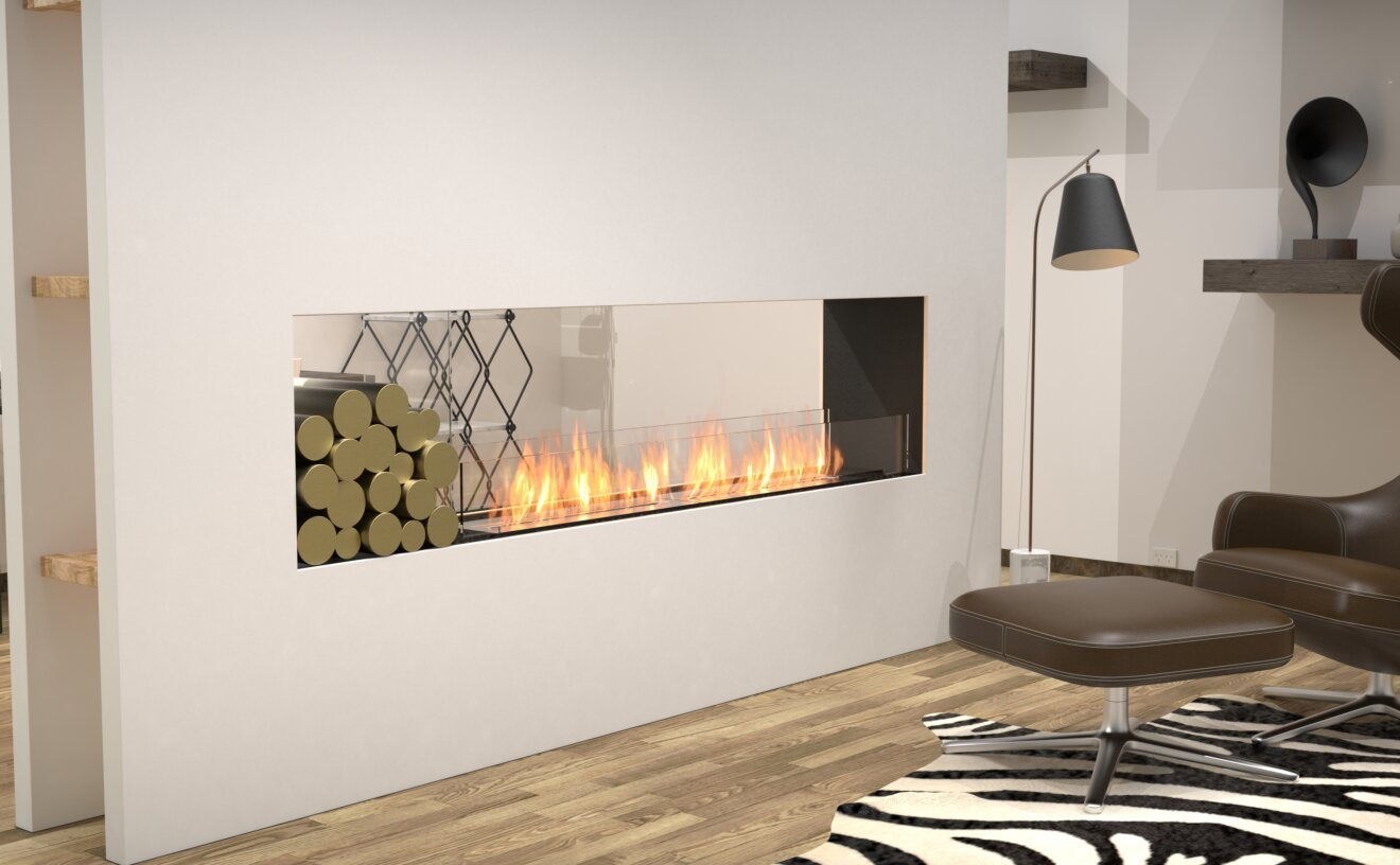Flex 86DB.BX1 Flex Fireplace - Studio Image by EcoSmart Fire