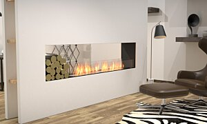 Flex 86DB.BX1 Flex Fireplace - In-Situ Image by EcoSmart Fire