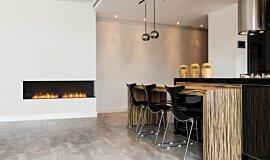 Kitchen Area Flex Fireplaces Flex Fireplace Idea