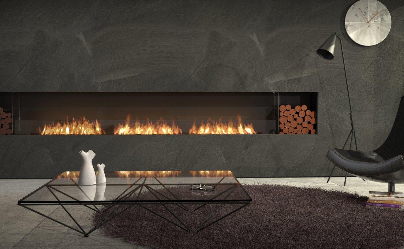 Flex 158SS.BX2 Fireplace Insert - Studio Image by EcoSmart Fire