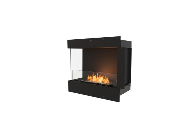 Flex 32LC Flex Fireplace - Ethanol / Black / Uninstalled View by EcoSmart Fire