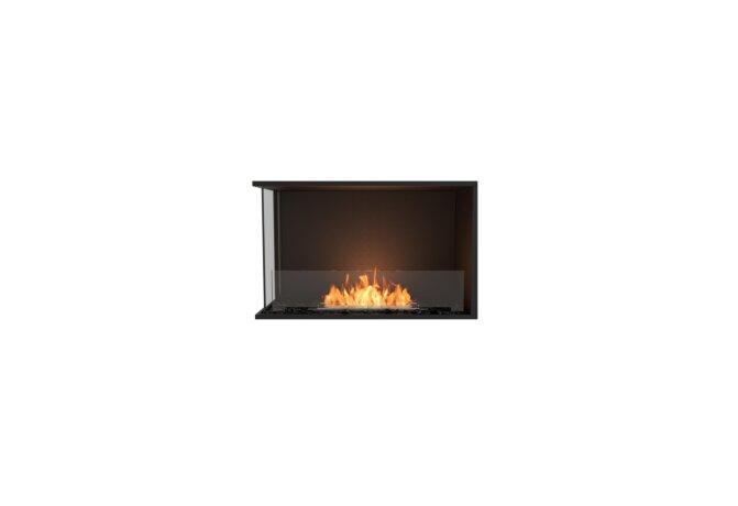 Flex 32LC Flex Fireplace - Ethanol / Black / Installed View by EcoSmart Fire