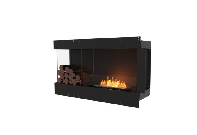 Flex 50LC.BXL Flex Fireplace - Ethanol / Black / Uninstalled View by EcoSmart Fire