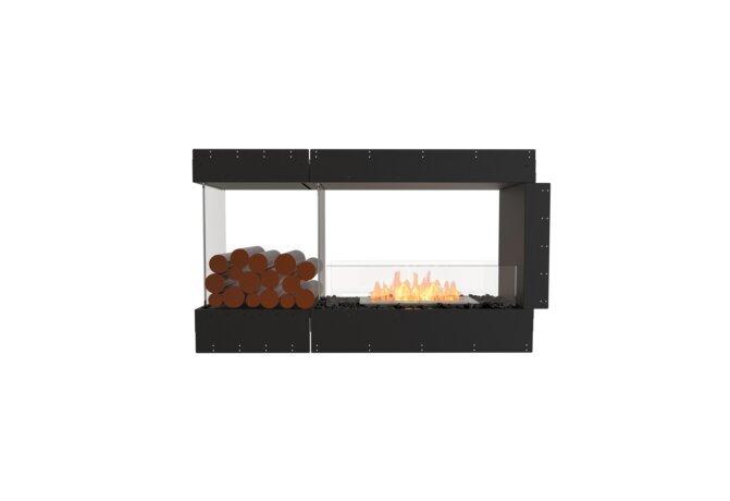 Flex 50PN.BXL Peninsula - Ethanol / Black / Uninstalled View by EcoSmart Fire
