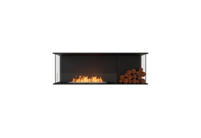 Flex 60 - Ethanol / Black / Installed View by EcoSmart Fire