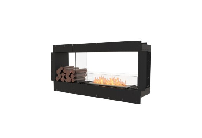 Flex 60DB.BX1 Double Sided - Ethanol / Black / Uninstalled View by EcoSmart Fire