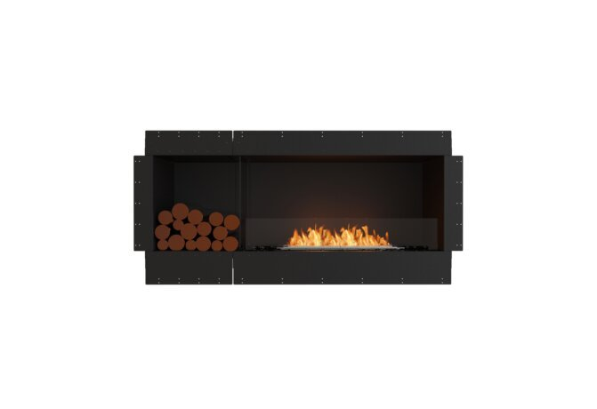 Flex 60SS.BXL Single Sided - Ethanol / Black / Uninstalled View by EcoSmart Fire