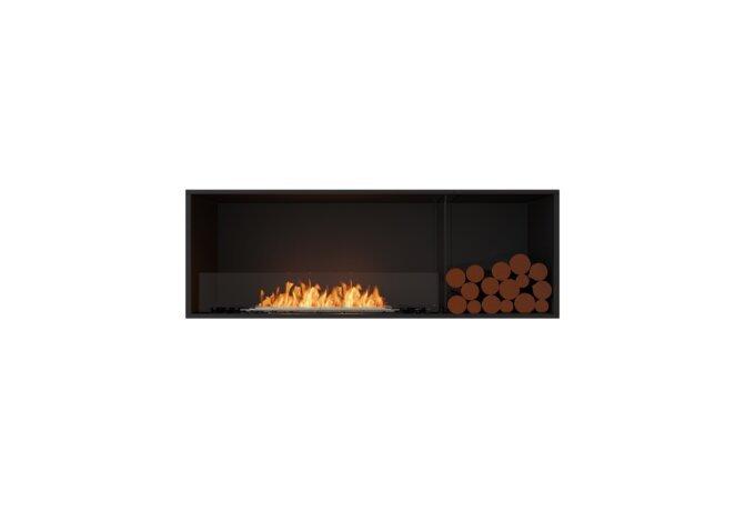 Flex 60SS.BXR Single Sided - Ethanol / Black / Installed View by EcoSmart Fire