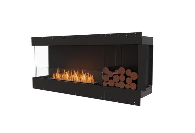 Flex 68LC.BXR Flex Fireplace - Ethanol / Black / Uninstalled View by EcoSmart Fire