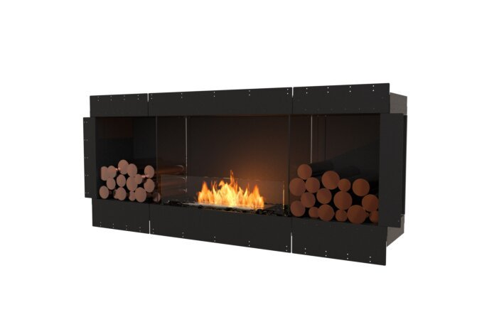 Flex 68SS.BX2 Single Sided - Ethanol / Black / Uninstalled View by EcoSmart Fire