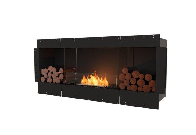 Flex 68SS.BX2 Flex Fireplace - Ethanol / Black / Uninstalled View by EcoSmart Fire