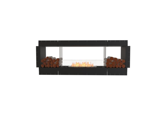 Flex 78DB.BX2 Flex Fireplace - Ethanol / Black / Uninstalled View by EcoSmart Fire