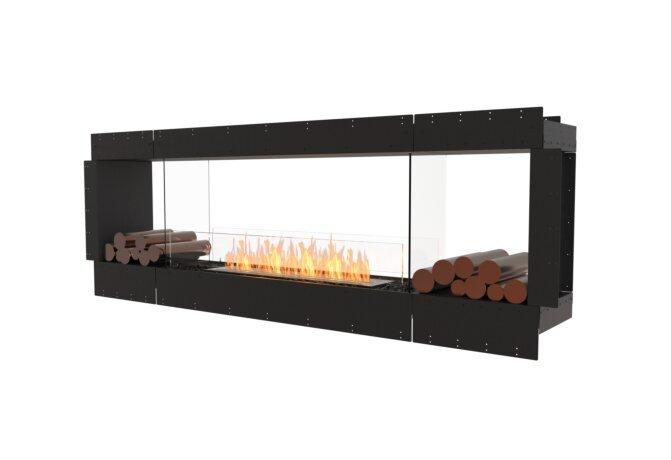 Flex 86DB.BX2 Flex Fireplace - Ethanol / Black / Uninstalled View by EcoSmart Fire