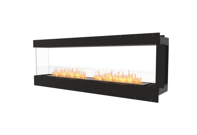 Flex 86PN Peninsula - Ethanol / Black / Uninstalled View by EcoSmart Fire