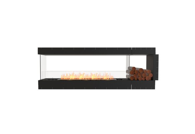 Flex 86PN.BXR Peninsula - Ethanol / Black / Uninstalled View by EcoSmart Fire