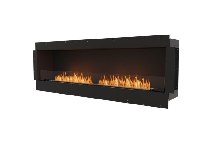 Flex 86SS Single Sided - Ethanol / Black / Uninstalled View by EcoSmart Fire