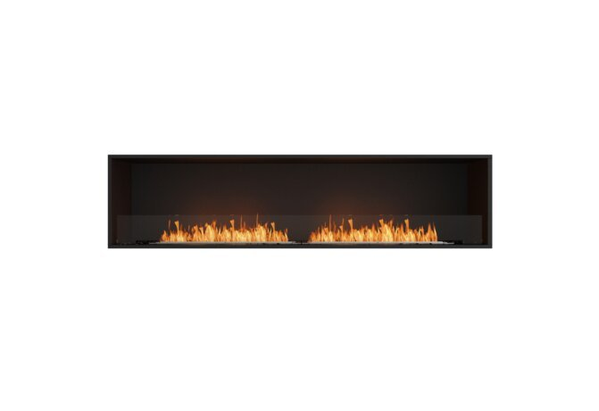 Flex 86SS Single Sided - Ethanol / Black / Installed View by EcoSmart Fire
