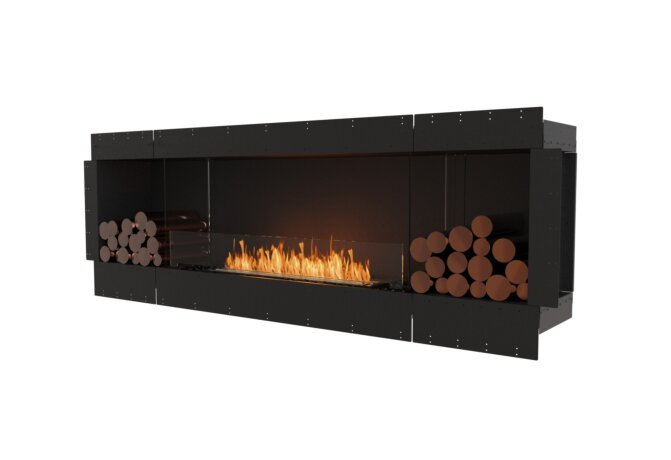 Flex 86SS.BX2 Flex Fireplace - Ethanol / Black / Uninstalled View by EcoSmart Fire