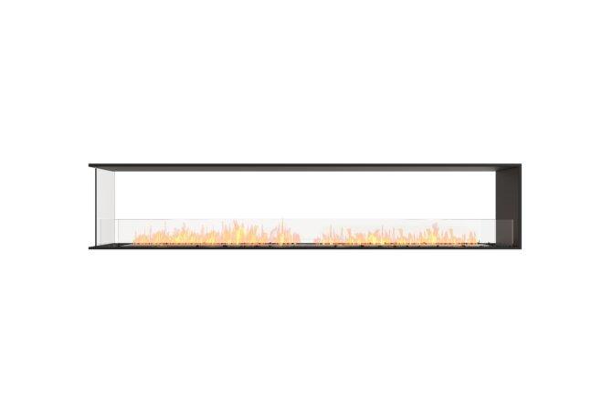 Flex 104PN Flex Fireplace - Ethanol / Black / Installed View by EcoSmart Fire