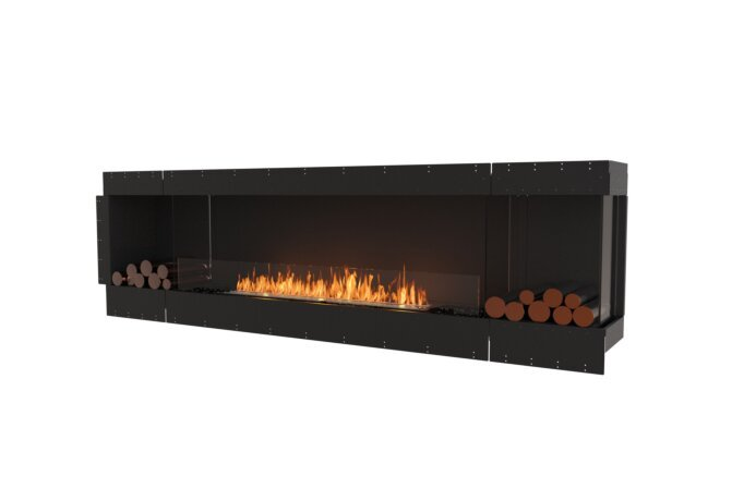 Flex 104RC.BX2 Right Corner - Ethanol / Black / Uninstalled View by EcoSmart Fire