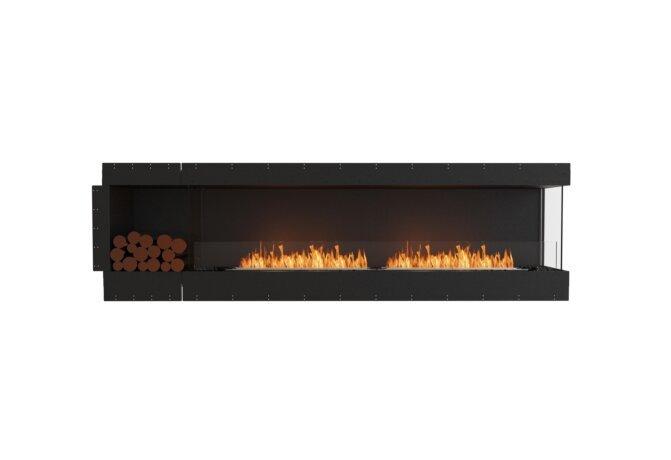 Flex 104RC.BXL Flex Fireplace - Ethanol / Black / Uninstalled View by EcoSmart Fire