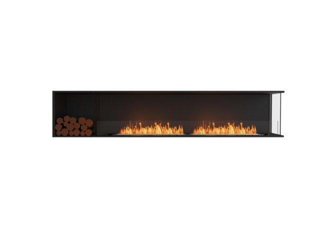 Flex 104RC.BXL Flex Fireplace - Ethanol / Black / Installed View by EcoSmart Fire