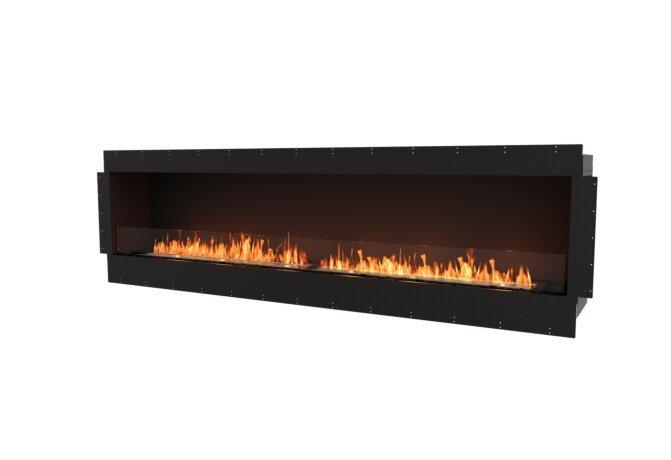 Flex 104SS Single Sided - Ethanol / Black / Uninstalled View by EcoSmart Fire