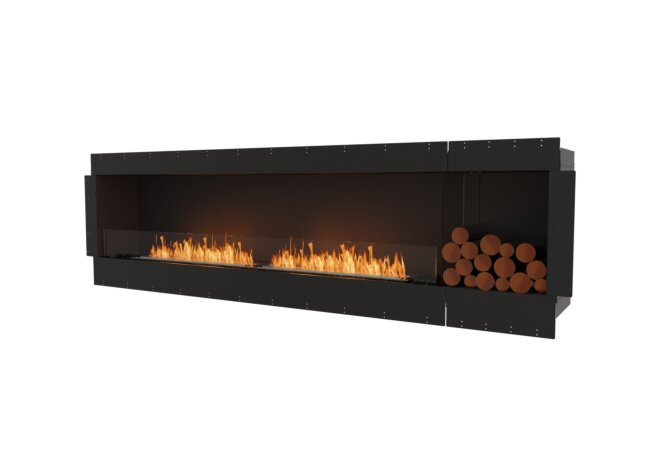 Flex 104SS.BXR Single Sided - Ethanol / Black / Uninstalled View by EcoSmart Fire
