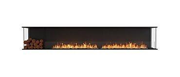 Flex 122BY.BXL Bay Fireplace - Studio Image by EcoSmart Fire