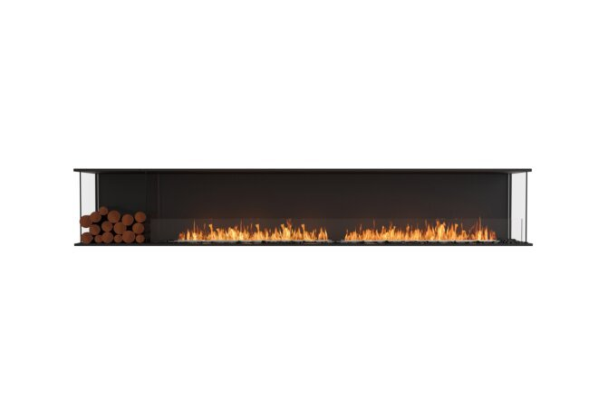 Flex 122 - Ethanol / Black / Installed View by EcoSmart Fire