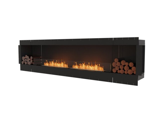 Flex 122SS.BX2 Flex Fireplace - Ethanol / Black / Uninstalled View by EcoSmart Fire