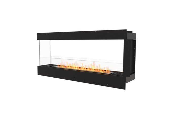Flex 68PN Peninsula - Ethanol / Black / Uninstalled View by EcoSmart Fire