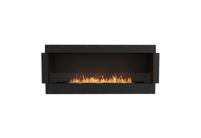 Flex 68SS Flex Fireplace - Ethanol / Black / Uninstalled View by EcoSmart Fire