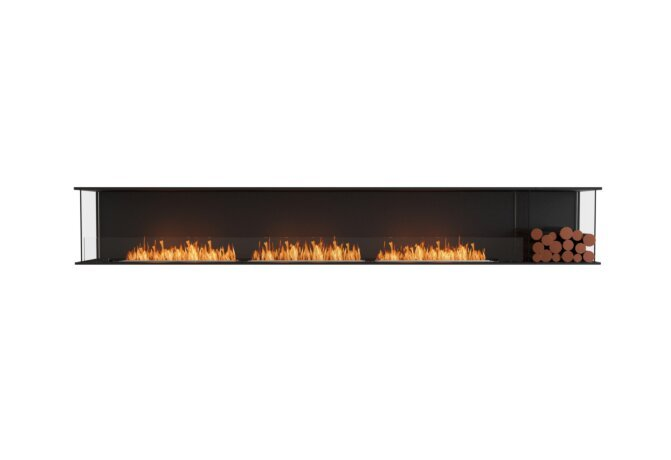 Flex 140 - Ethanol / Black / Installed View by EcoSmart Fire
