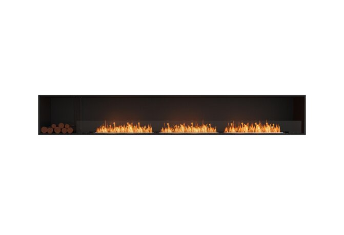 Flex 140SS.BXL Single Sided - Ethanol / Black / Installed View by EcoSmart Fire