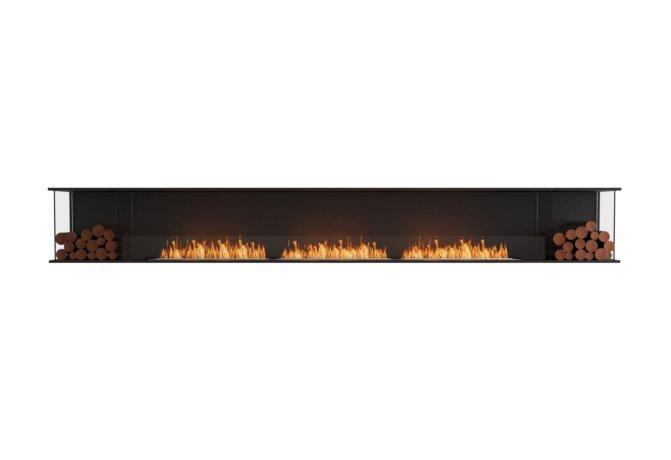 Flex 158 - Ethanol / Black / Installed View by EcoSmart Fire