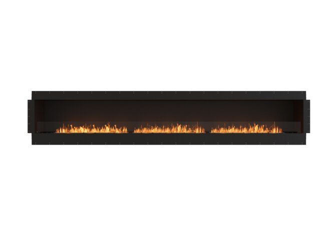 Flex 158SS Flex Fireplace - Ethanol / Black / Uninstalled View by EcoSmart Fire
