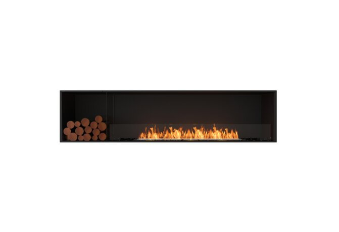Flex 86SS.BXL Single Sided - Ethanol / Black / Installed View by EcoSmart Fire