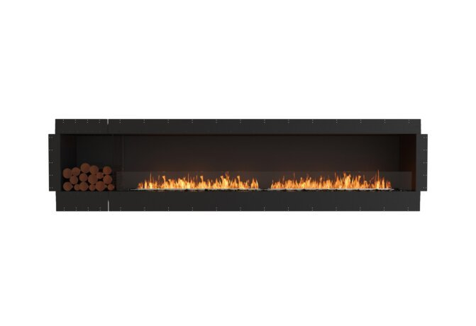 Flex 122SS.BXL Flex Fireplace - Ethanol / Black / Uninstalled View by EcoSmart Fire