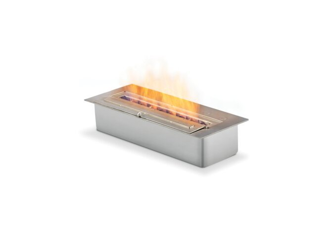 XL500 Ethanol Burner - Ethanol / Stainless Steel by EcoSmart Fire