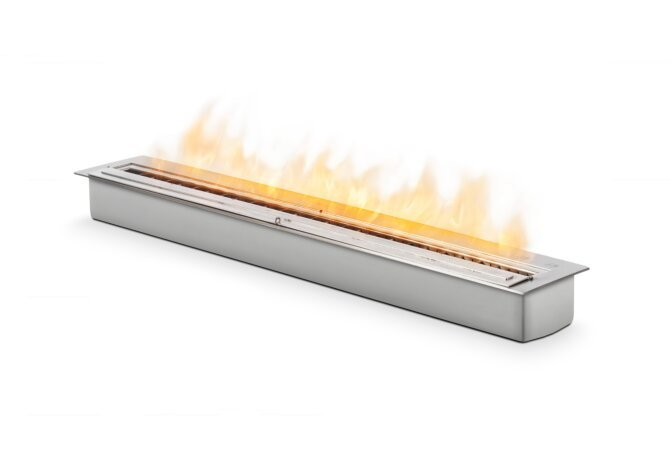 XL1200 Ethanol Burner - Ethanol / Stainless Steel by EcoSmart Fire