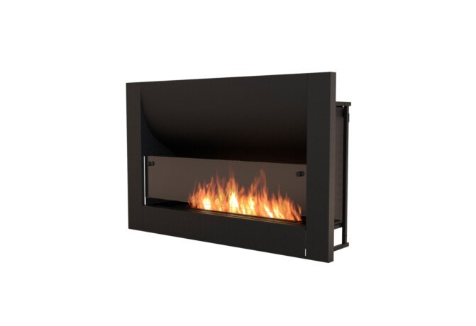 Firebox 1100CV Curved Fireplace - Ethanol / Black by EcoSmart Fire